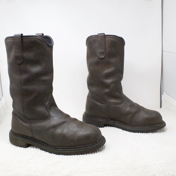 Red Wing Pecos Pull On 227 Steel Toe